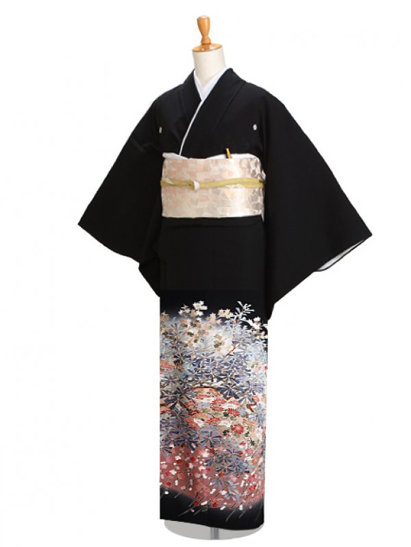 黒留袖 0854 高級正絹ハイクラス