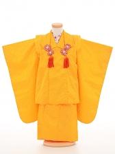 七五三(3歳女被布)被布sfth012黄色/花びら