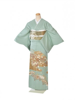色留袖・結婚式・式典・花扇IT014