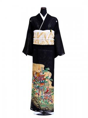 夏黒留袖tcr002山鉾