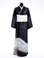 夏黒留袖tcrl001山賀