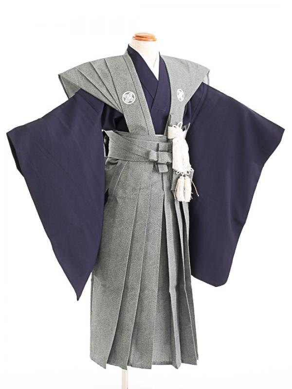 七五三(5歳男袴)sftm296鮫小紋裃