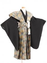 七五三(7歳男袴)sftm022菊紋裃