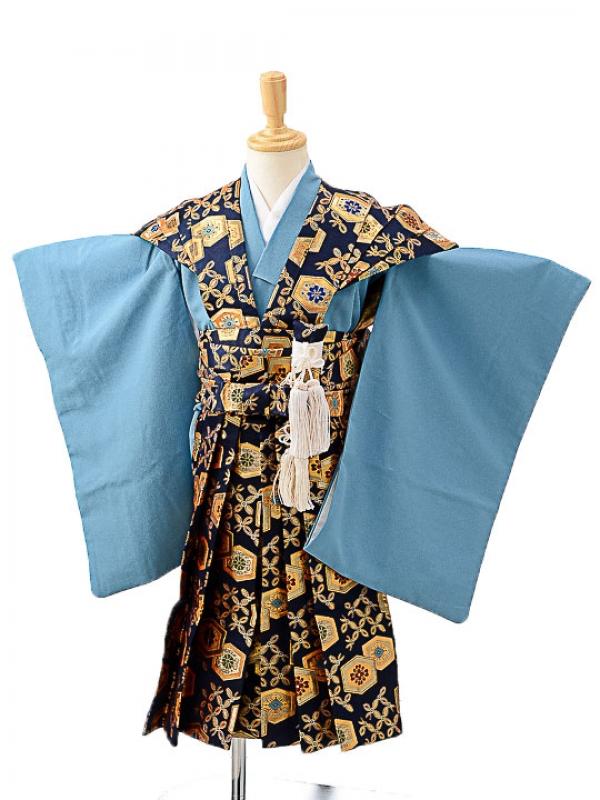七五三(3歳男袴)sftm210花亀甲紋裃