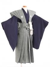 七五三(5歳男袴)sftm304鮫小紋裃