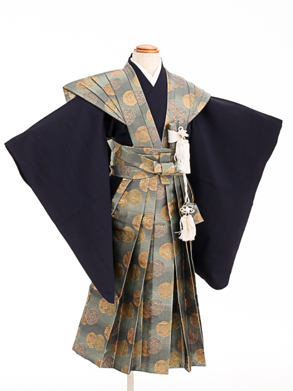 七五三(7歳男袴)sftm308菊紋裃