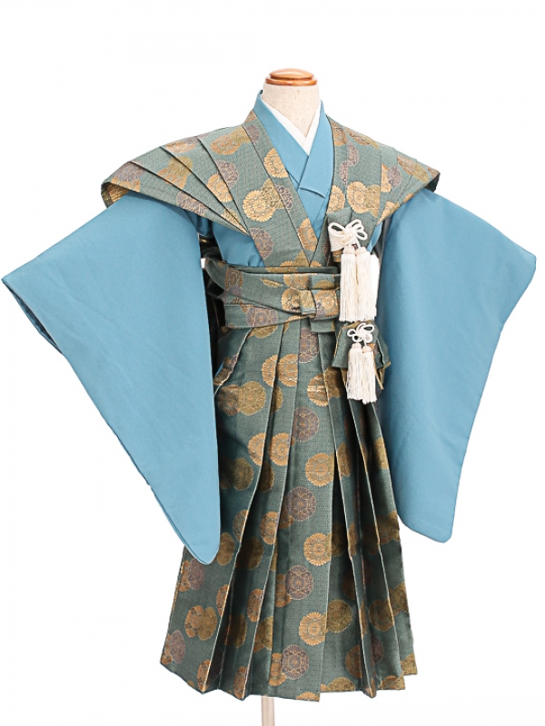 七五三(5歳男袴)sftm015菊紋裃