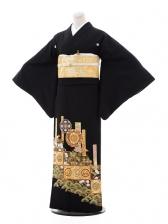 黒留袖レンタル5332 桜松華紋