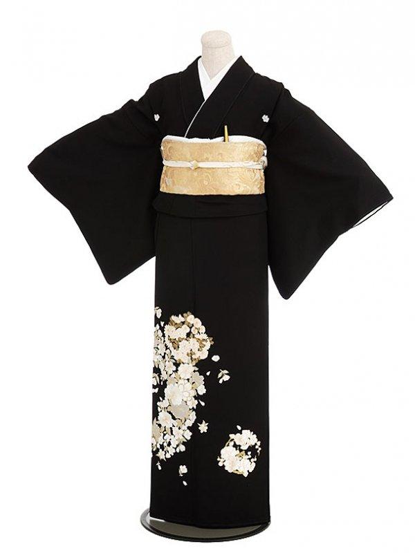 黒留袖レンタル5273山口美術織物花鞠