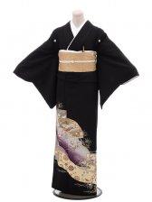 黒留袖5251紫扇