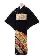 黒留袖レンタル5295桂由美金こま菊と梅
