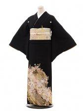 黒留袖レンタル5291桂由美花の訪れ2