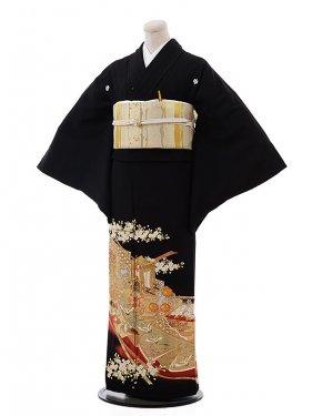 黒留袖レンタル5326桂由美十二単衣赤