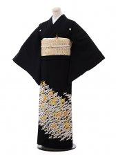 黒留袖レンタル5292白鶴長寿文様
