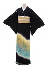 黒留袖レンタル5263源氏の宴
