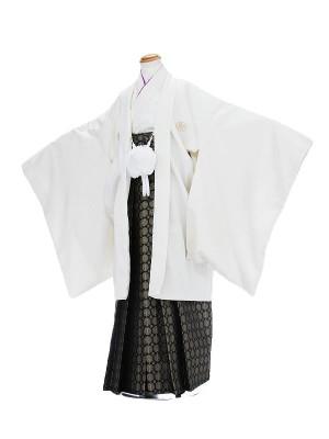 男の子10歳羽織白袴金蘭1304