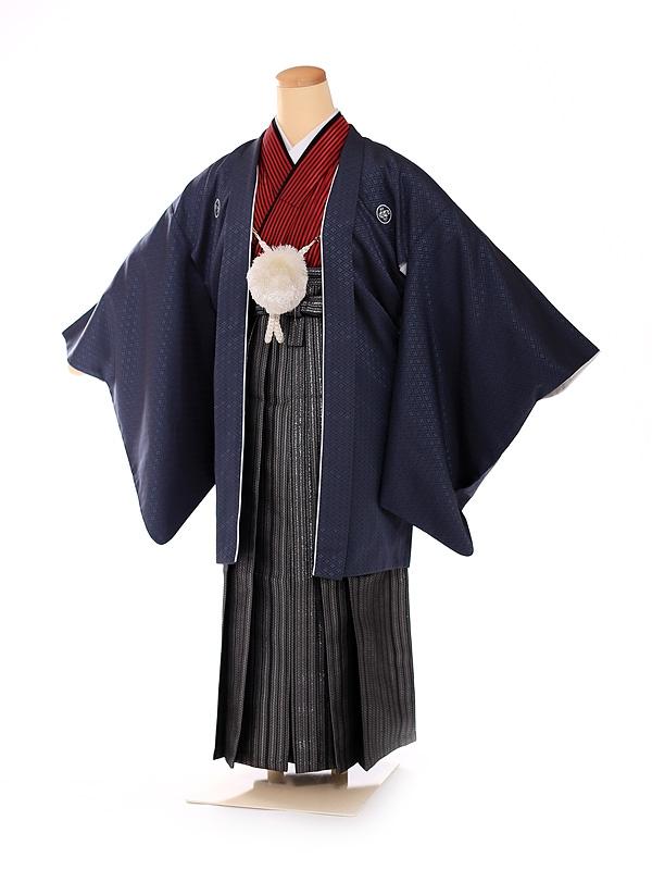 男の子 紋付袴 13歳 紺 FC1316