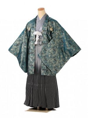 小学生 男袴 ジュニア 桐生(緑) 1354