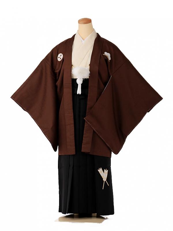 小学生 男袴 ジュニア 茶色 1348