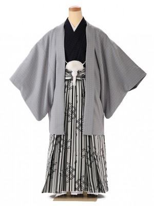 小学生 男袴 ジュニア HANAE MORI グレー 1352