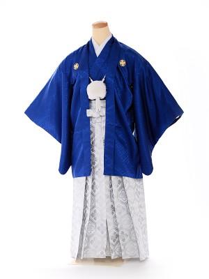 ジュニア男の子 羽織袴 紺×白 1335