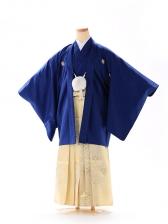 男の子 紋付袴 13歳 紺×金 FC1322