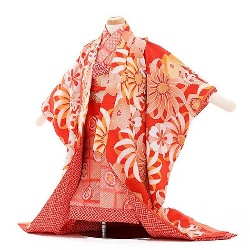 女児ベビー着物 0006 ジャパンスタイル赤/打掛