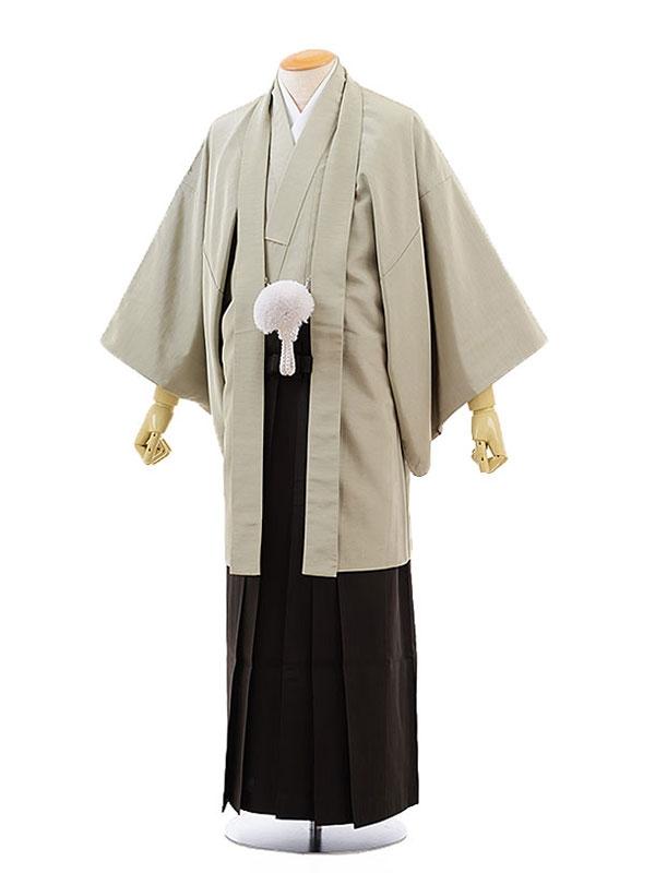男性用袴レンタル2033紋付KANSAI 若草