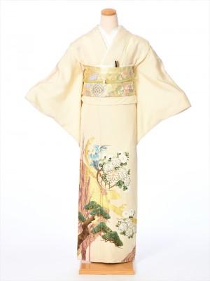 桂由美 色留袖レンタル8AB56
