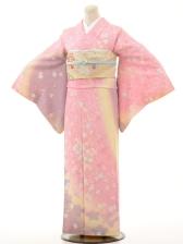 付下f109ピンク桜