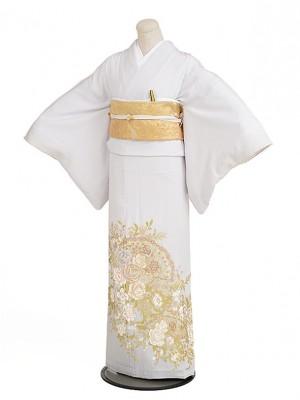 色留袖レンタル579桂由美バラの戯れ