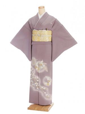 色留袖レンタル545浅紫