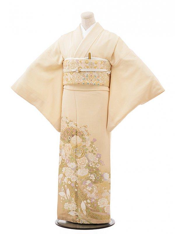 色留袖レンタル607桂由美バラ香る