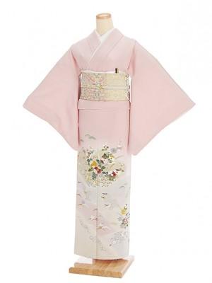 色留袖レンタル554石竹色