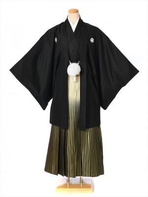 紋付袴 レンタル8AF09【5号】