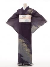 夏訪問着htr099葦(よし)/紫
