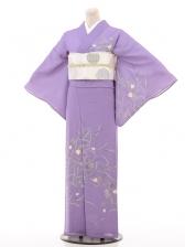 夏訪問着htr061蔦/紫
