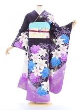 振袖713/紫/おしゃれ/成人式等