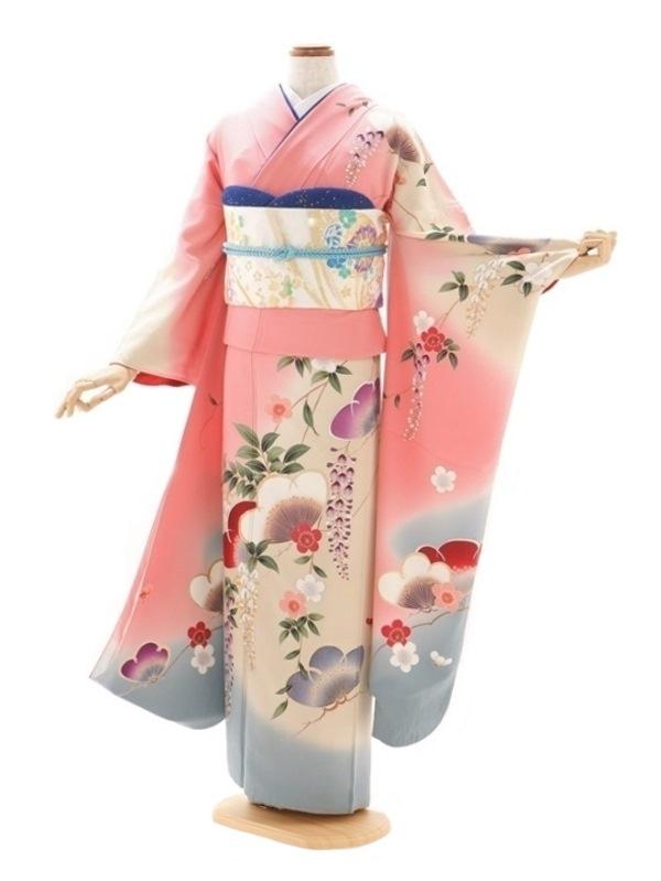 振袖453/ピンク/おしゃれ/成人式等