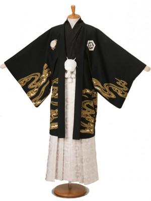 男性用袴JSMH-2黒鯉LLジャパンスタイル