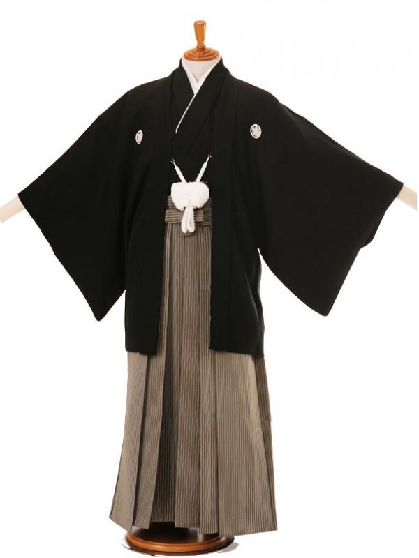 男性用袴黒A4/D5-165