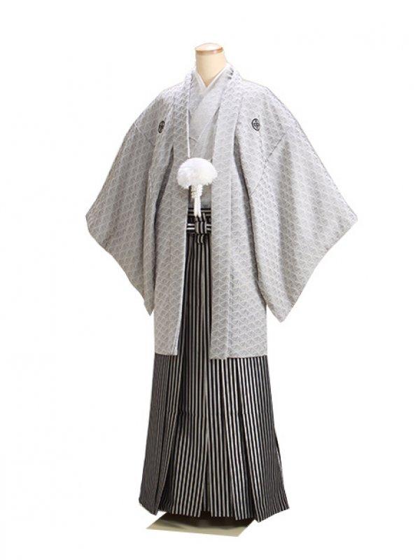 シルバー寿高級紋付 新郎 背の高い方 大きい