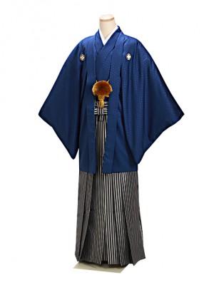 紺 紋付袴 卒業式 成人式 LLサイズ