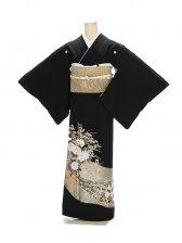 黒留袖1151辛明熨斗