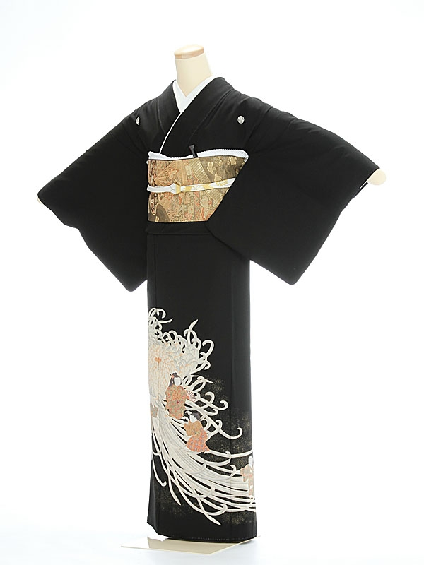 黒留袖1093大輪慶童