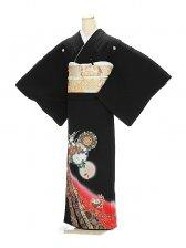 黒留袖1132花鏡風月