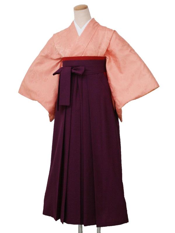 卒業袴レンタル 1630オレンジ地扇