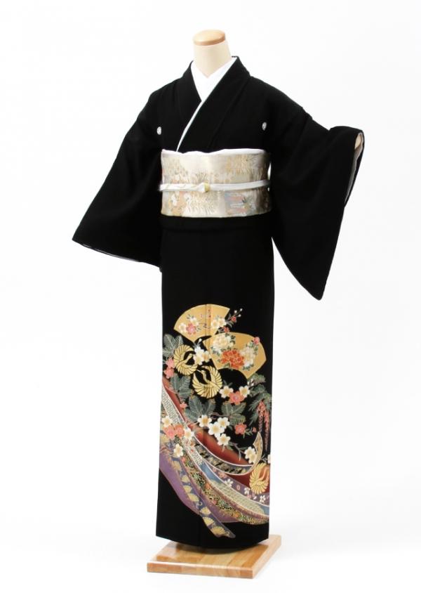 黒留袖6AA0025