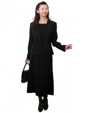 女性礼服204 [アンサンブル][前ファスナー]