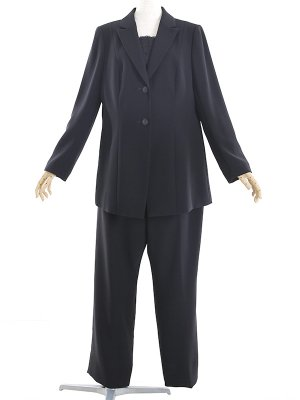 女性礼服316 [大きいパンツスーツ]